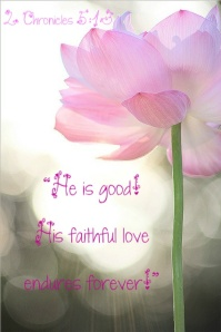 His love is good flower