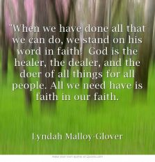 faith in faith
